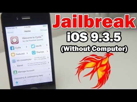 How to Jailbreak iOS 9.3.5 Without a Computer Using Phoenix on iPhone, iPod touch & iPad (32-bit)