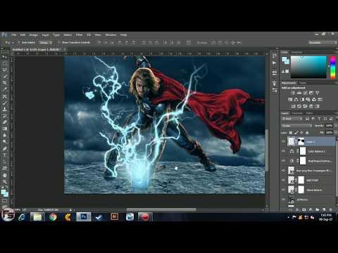 Thor: Ragnarok Movie Poster (Tutorial) In Photoshop cc 2014