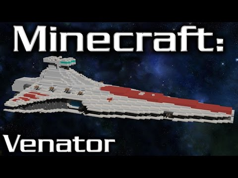 Minecraft: Star Wars: Star Destroyer Tutorial (Venator 1/10th Scale)