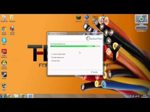 How To Install HotspotShield - The Safe And Easy VPN