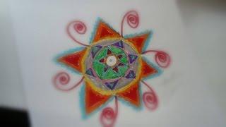 #x202b;كيفية رسم زخرفة نباتية #2 | How To Draw A Flower #2#x202c;lrm;
