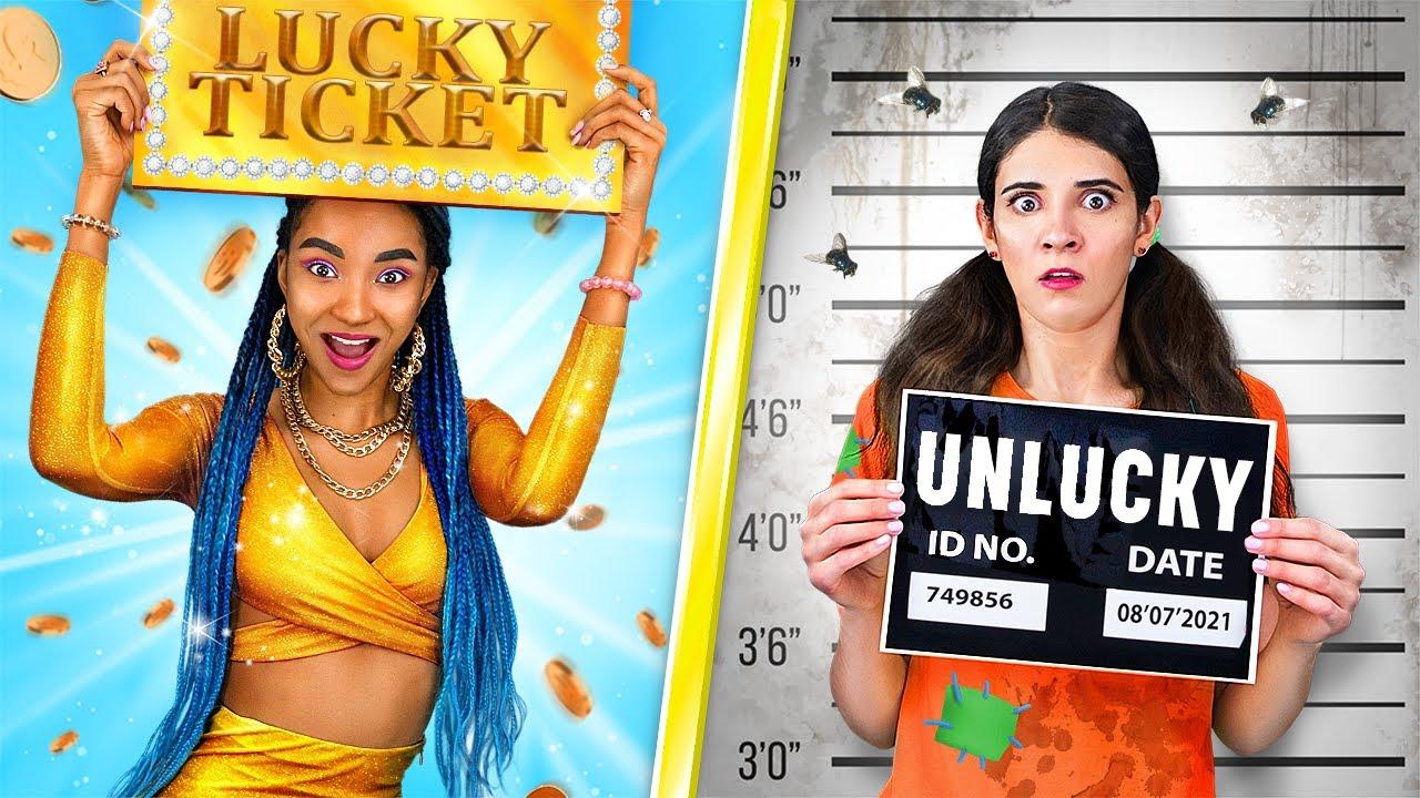 Lucky vs Unlucky / True Girls Struggles