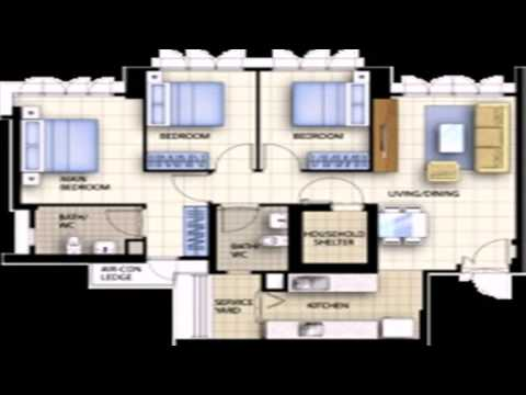 Floor Plan Of 4 Room Hdb Flat