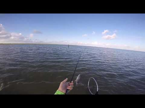 Fishing Inshore For Redfish In Rockport, Texas