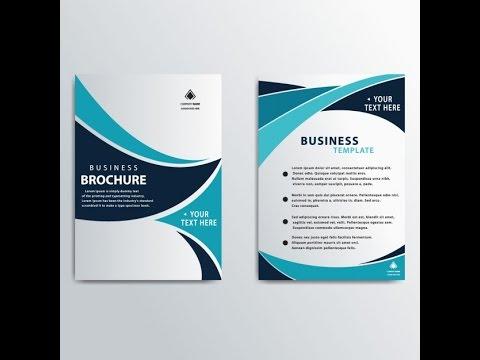 Brochure Design with Coreldraw 11 tutorial in urdu part 1