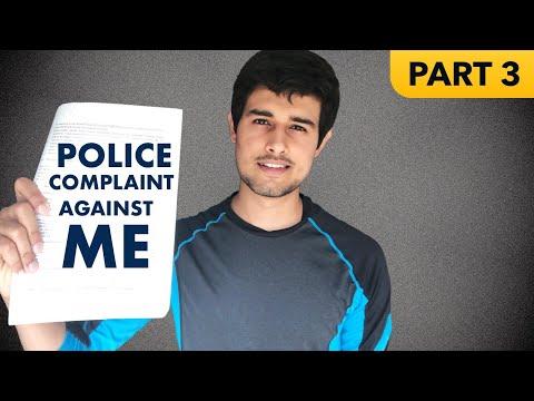 Police Complaint against Dhruv Rathee! | BJP IT Cell Part 3
