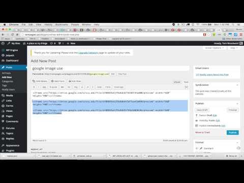 Google Drive Folder for the World & Embedding Media