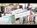 Closet Organization And Declutter 2017 | Master Closet
