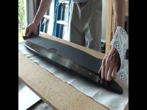 How To Make A Fiberglass Longboard