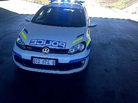 SAPS Golf 6 Gti Newcastle Highway Patrol...