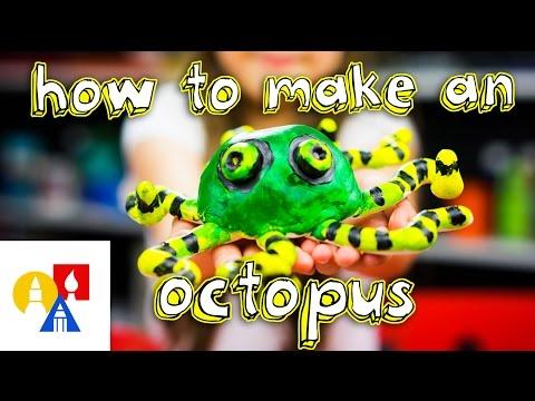 How To Make A Pinch Pot Octopus
