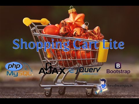 Shopping Cart Lite in PHP MySql and Bootstrap