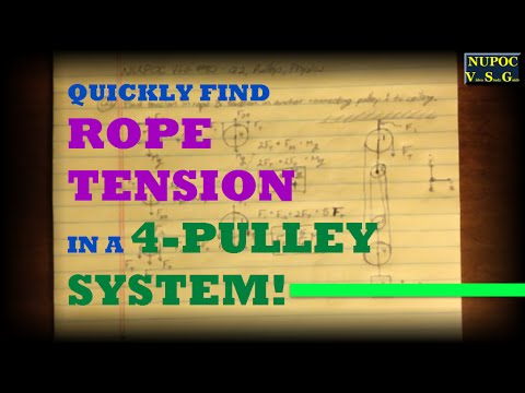 NUPOC VSG #90 - A More Complex Pulley System