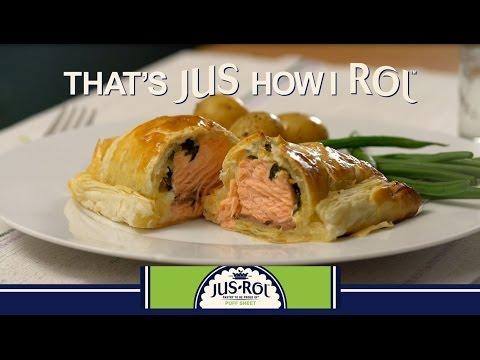 Salmon and Basil Turnovers Recipe – Jus Rol