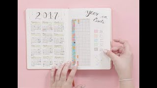 How to Start a Bullet Journal   Plan With Me
