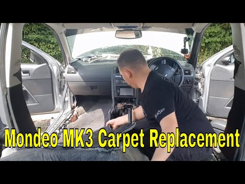 Ford Mondeo Mk3 carpet replace (project st220)