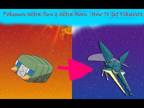 Pokemon Ultra Sun & Ultra Moon | How To Get Vikavolt