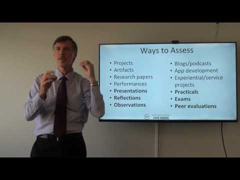 Assessment and Creating Rubrics