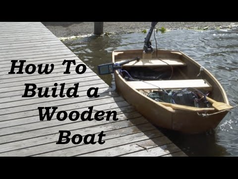 How to Build a Wooden Boat for Complete Beginners...