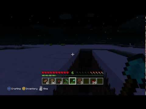 Minecraft Xbox 360 Edition: Finding a Fortress w/