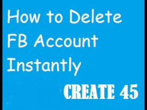 HOW TO DELETE FACEBOOK ACCOUNT PERMANENTLY BANGLA REVIEW