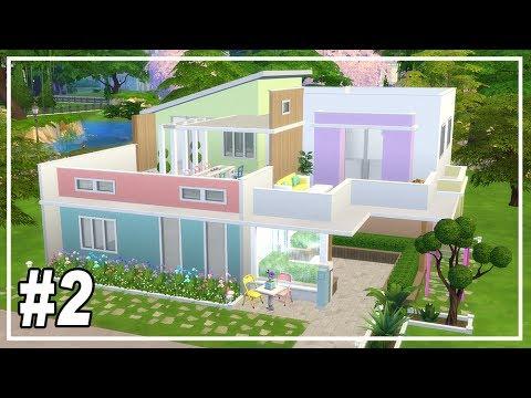 SIMS 4 PARENTHOOD HOUSE part 2 | Unicorn Colors
