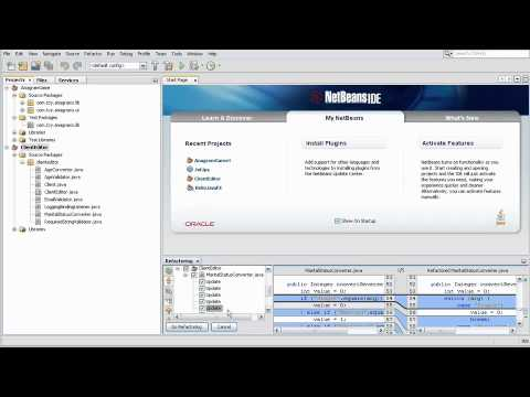 NetBeans IDE 7.1 Overview