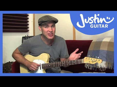 How to Tune Your Guitar To Open G Tuning - Guitar Lesson [ES-031]