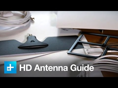 How to choose and place a HD antenna