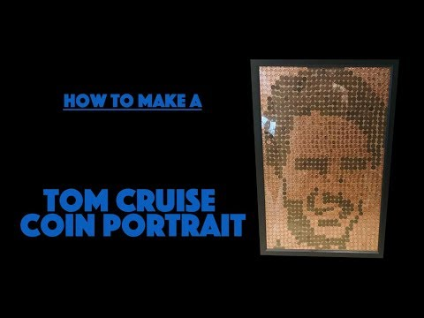How To Make a Tom Cruise Coin Portrait