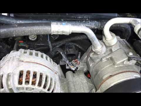how to replace waterpump thermostat sensors in detail step tutorial dodge ram jeep chrysler. Black Bedroom Furniture Sets. Home Design Ideas