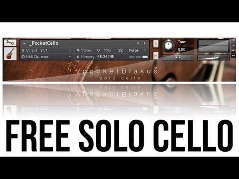 pocketBlakus - Free Solo Cello for Kontakt