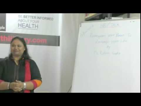 Reprogram Your Brain To Recharge Your  Life By Ms. Rohini Gupta on HELP Talks