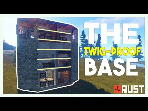 The STRONGEST Solo/Duo Base TODAY!! | (Roof Stacked!) | Rust Base Building!!