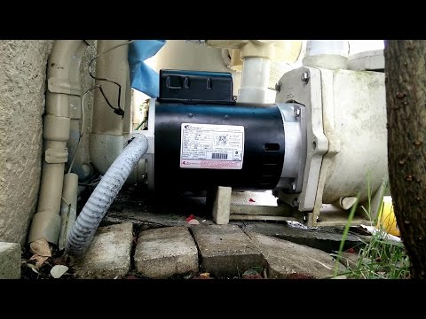 How to Install Remove Replace a Pool Pump Motor