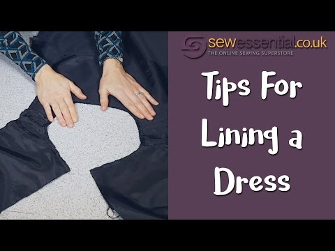 Tips for Lining a Sleeveless Dress