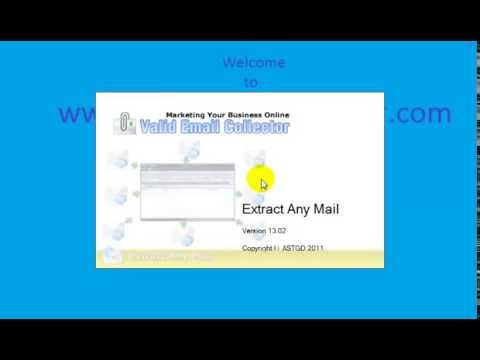 Extract emails from GMAIL, YAHOO, HOTMAIL and other email accounts