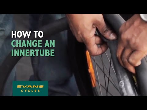 How to change an inner tube