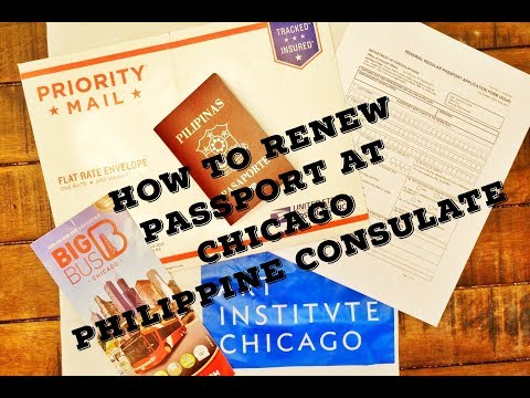 How to Renew Philippine Passport at the Philippine Consulate Chicago
