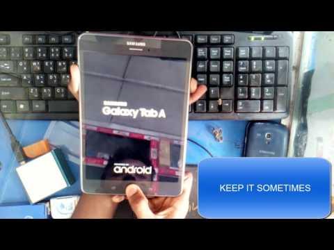 Samsung Galaxy Tab A Hard Reset/wipe data(SM-P355)