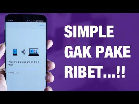 Cara Memindahkan FOTO dari iPhone / Android ke LAPTOP Windows — Wireless TANPA Kabel!