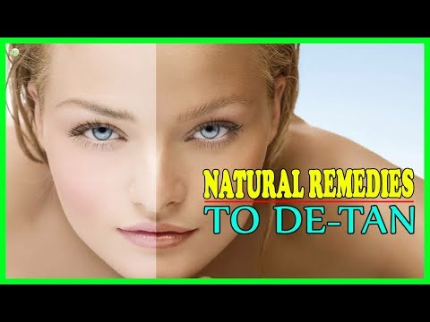 How To Remove Sun Tan From Face Quickly? - Sun Tan Removal Home Remedies