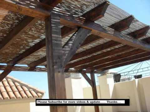 Pergola With Roof Design Ideas, Pictures