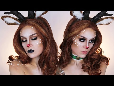 Rudolph the Red-Nosed Reindeer ♫ Makeup Tutorial