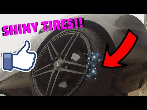 How To Make Your Tires SHINE!
