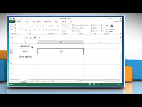 How to combine text from multiple cells into one cell in Excel 2013