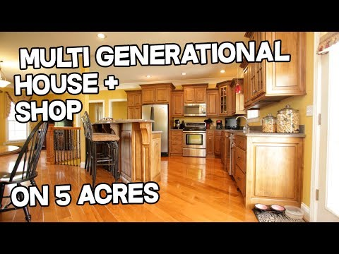 Multigenerational Country property - multi-generational house for sale, on 5 acres