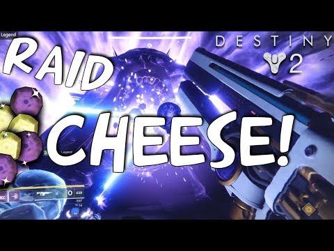 Destiny 2 -ONE PHASE Emperor Calus GLITCH! (Leviathan Raid CHEESE) No Enemies, Space Room!