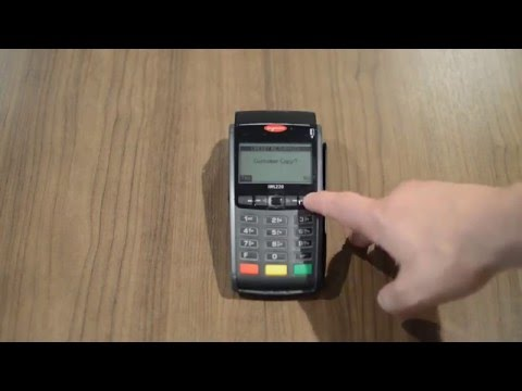 How to Process a Refund on an Ingenico iWL220, iWL250, iCT220 and iCT250 credit card machine