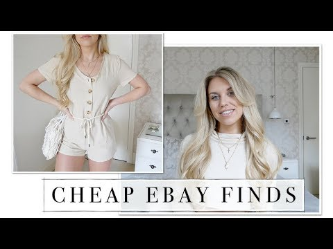 EBAY HAUL SUMMER MAY 2018 | FASHION ON A BUDGET | Freya Farrington